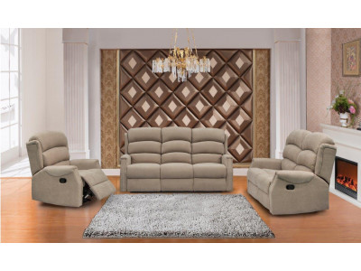 Fargo 3 Seater + 2 Recliner Suite